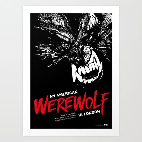 American Werewolf in London Art Print