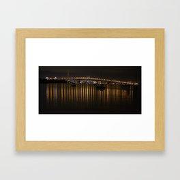 Upon reflection Framed Art Print