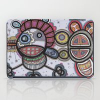 pirate iPad Cases featuring Pirate by Kasia Ivona Chojnacka
