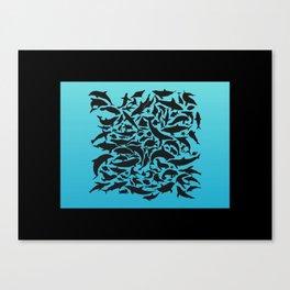 Sea aquarium Canvas Print