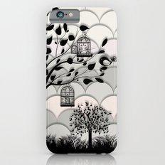 Paper landscape B&W Slim Case iPhone 6s