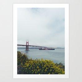 Golden Gate Bridge, San Francisco, California Art Print