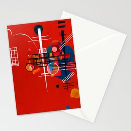 Wassily Kandinsky Red 400 Stationery Cards