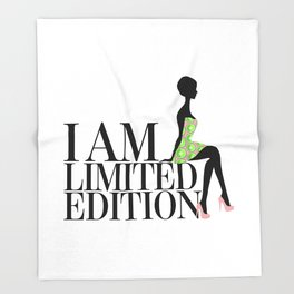 I Am Limited Edition Throw Blanket