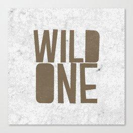Wild One Canvas Print