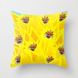 Sunshine Captain! Throw Pillow