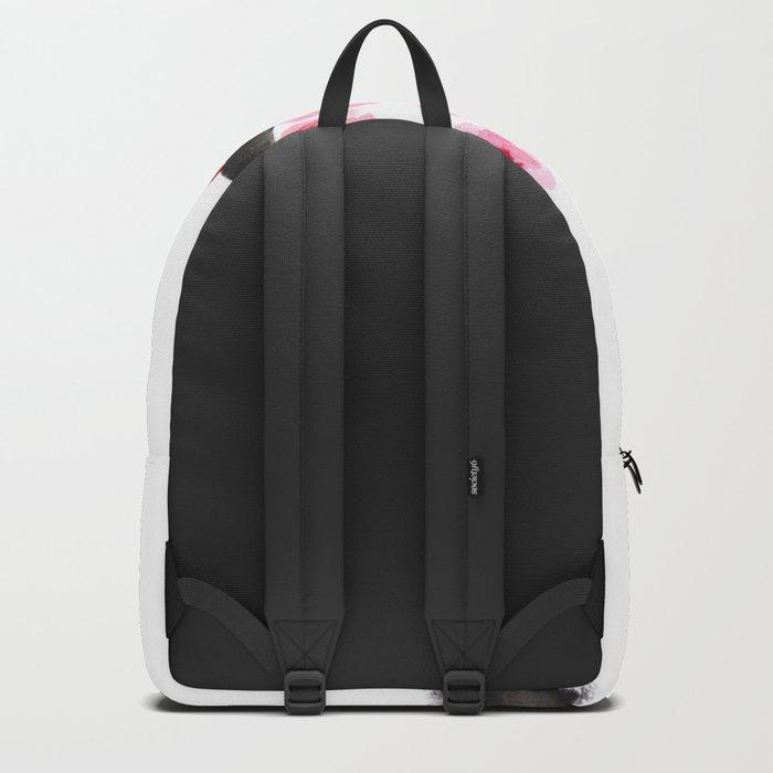 red plum flower Backpack