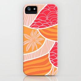 kauai, orange iPhone Case