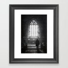 In Awe Framed Art Print