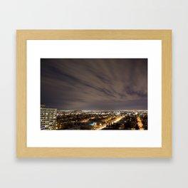 City Nights. Framed Art Print