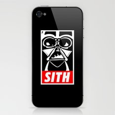 Obey Darth Vader (sith text version) - Star Wars iPhone & iPod Skin