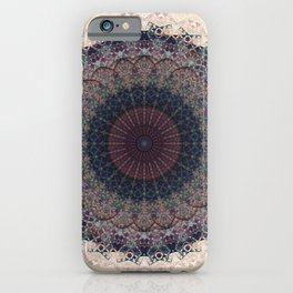 Modern Mandala art iPhone Case