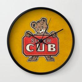 Super Cub Wall Clock