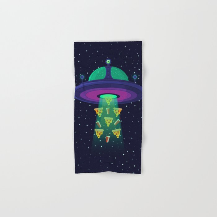 Alien Munchies Hand & Bath Towel
