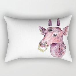 Young biche Rectangular Pillow