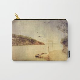 The path that hugs the beach Carry-All Pouch