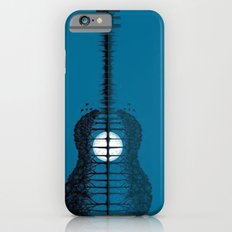Trees sea and the moon turned guitar Slim Case iPhone 6