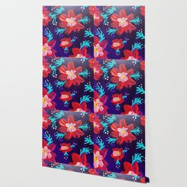 Purple Anna May Wallpaper