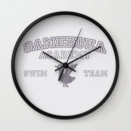 Samezuka - Duck Wall Clock