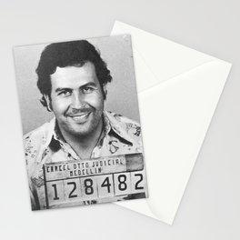 Pablo Escobar Mugshot Stationery Cards