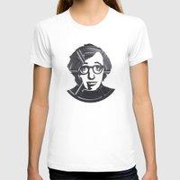 woody allen T-shirts featuring Woody Allen by Alejandro de Antonio Fernández