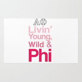 Livin' Young, Wild & Phi Rug