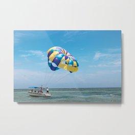 A sailboat in the Bahamas Metal Print