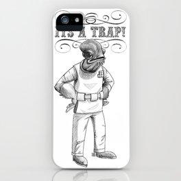 Its a trap - Admiral Akbar iPhone Case