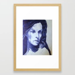 girl IV Framed Art Print
