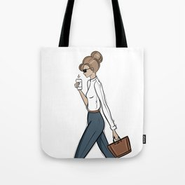 Back to Work! Tote Bag