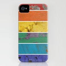 texture rainbow iPhone (4, 4s) Slim Case