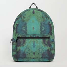 Sycamore Kaleidoscope - Graphite blue green Backpack