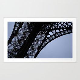 Eiffel Tower - Detail Art Print