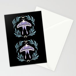 Moon Moth 02 Stationery Cards