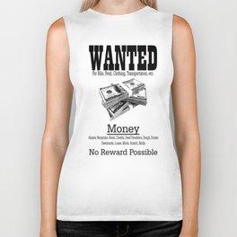 Wanted - Money Biker Tank