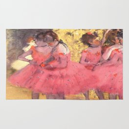The Pink Dancers Before the Ballet Rug