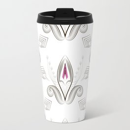 Art Deco 38. Rosebud . Travel Mug