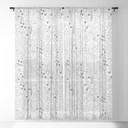 Fairy Poem Sheer Curtain