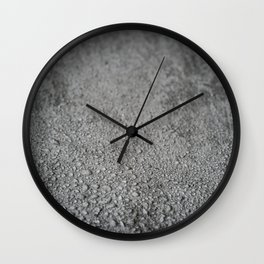 Wet concrete Wall Clock