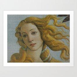 My Boticelli Serie : Venus Art Print