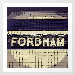 Fordham Art Print