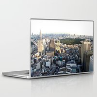 tokyo Laptop & iPad Skins featuring Tokyo by Léon