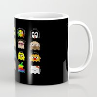 pac man Mugs featuring pac man by sEndro