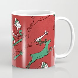 Santa Express Coffee Mug
