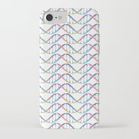 dna iPhone & iPod Cases featuring DNA by FACTORIE