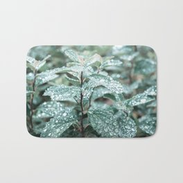 Wet Leaf Bath Mat