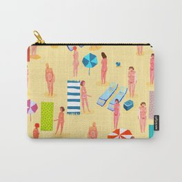 naked at the beach Carry-All Pouch