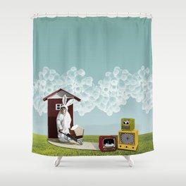 Play Chimp Shower Curtain