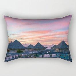 Bora Bora #society6 #decor #buyart Rectangular Pillow