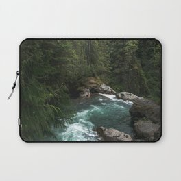 The Lost River - Pacific Northwest Laptop Sleeve